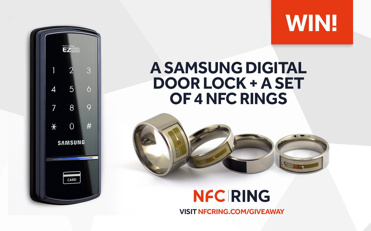 doors nfc lock ring products enabled door samsung shs a